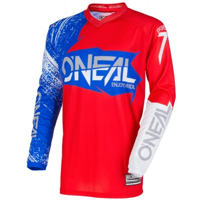 Dres Oneal Element Burnout Red/Blue