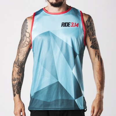 Dres Pitcha Polycam Tank Turquoise