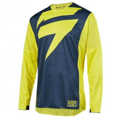 Dres Shift 3Lack Mainline Jersey yell...