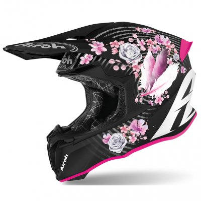 Helma Airoh Twist Mad black/pink
