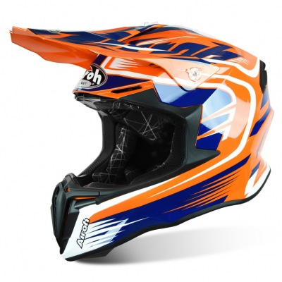 Helma Airoh Twist Mix Orange/Blue/White