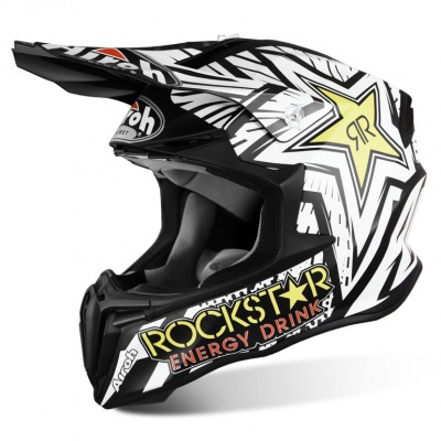 Helma Airoh Twist Rockstar White/Black