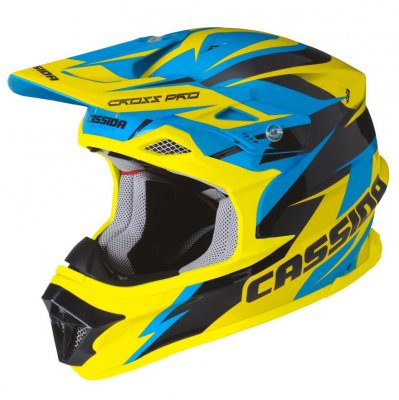 helma Cassida cross pro blue/yellow f...