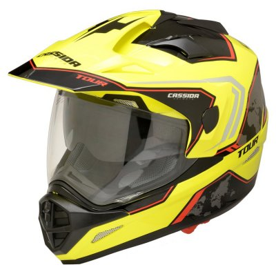 helma Cassida Tour Globe black/yellow...