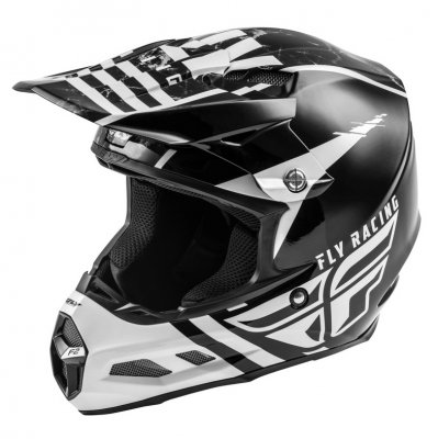 Helma Fly Racing F2 Carbon white/blac...