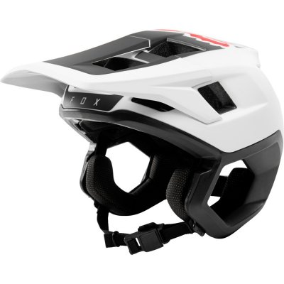 helma Fox Dropframe helmet white/black