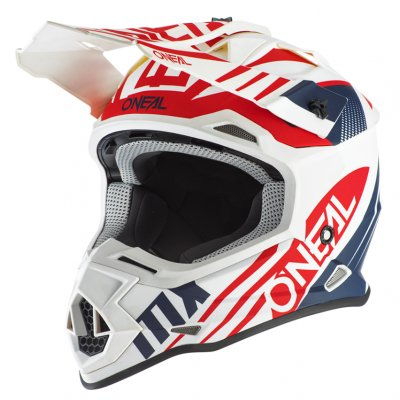 Helma Oneal 2Series Spyde 2.0 white/red