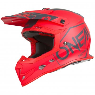 Helma Oneal 5Series Hexx red/black