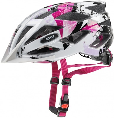 Helma Uvex Air Wing White/Pink