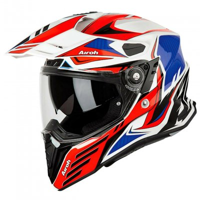 Helma Airoh Commander Carbon red/blue...