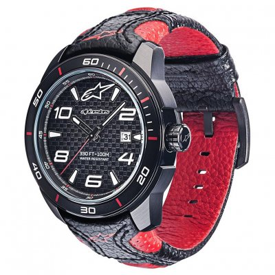 Hodinky Alpinestars Tech Race black/red