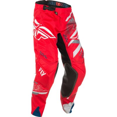kalhoty Fly Racing EVO 2018 red grey. 03f4f01363