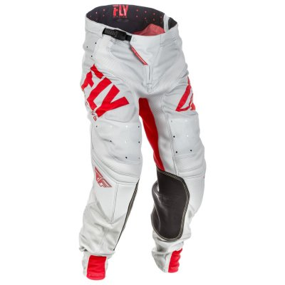 kalhoty Fly Racing  LITE 2018 white/red