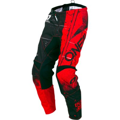 Kalhoty Oneal Element SHRED black/red