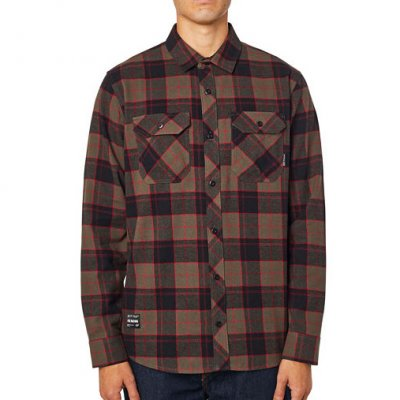 Košile Fox Traildust 2.0 Flannel Dirt
