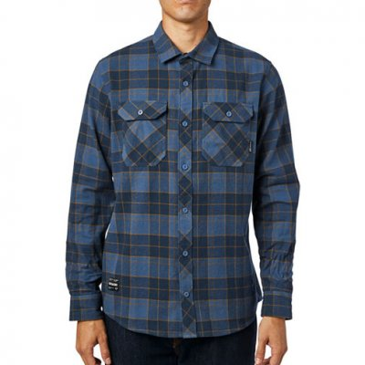 Košile Fox Traildust 2.0 Flannel Navy...