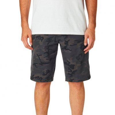 Kraťasy Fox Essex Camo Short Black Camor
