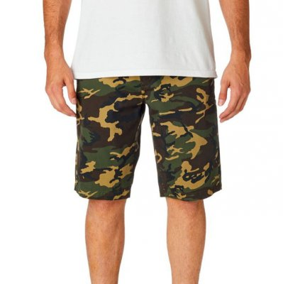 Kraťasy Fox Essex Camo Short Green Camo