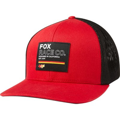 Kšiltovka Fox Analog Flexfit Hat chilli