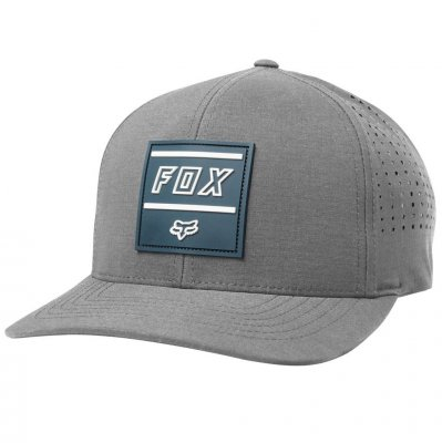 Kšiltovka Fox Midway Flexfit Hat Dark...
