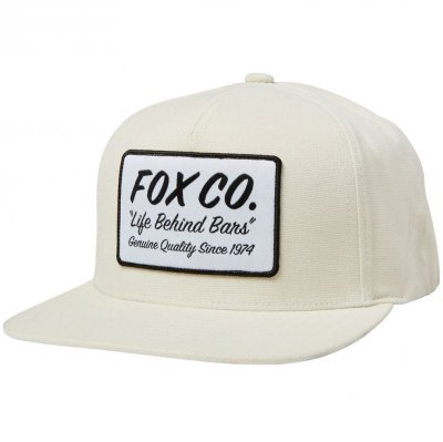 Kšiltovka Fox Resin Snapback Hat bone bd8ef8c589