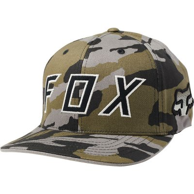 Kšiltovka Fox Scramble Flexfit Hat Camo