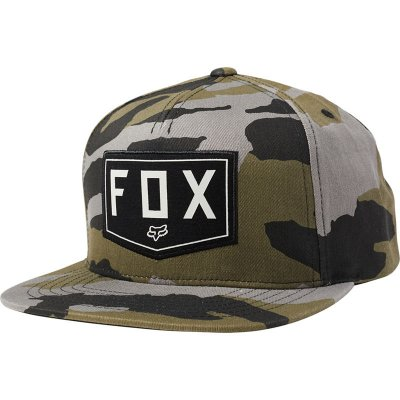 Kšiltovka Fox Shield snapback hat camo