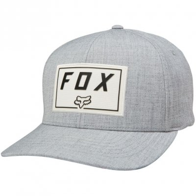 Kšiltovka Fox Trace Flexfit Hat steel...