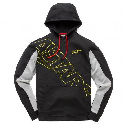 Mikina Alpinestars Pursuit fleece black