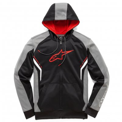 Mikina Alpinestars Strike fleece black