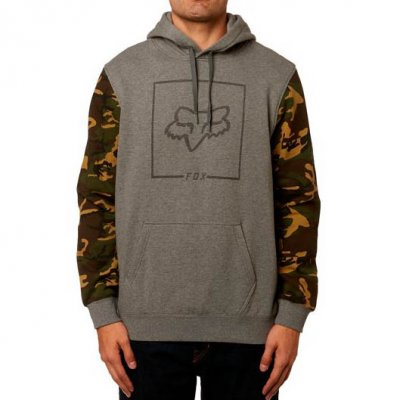 Mikina Fox Chapped Camo Pullover Flee...