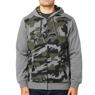 Mikina Fox Destrakt Camo Zip Fleece G...