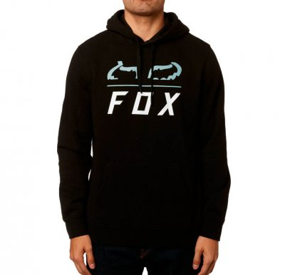Mikina Fox Furnace Pullover Fleece Black