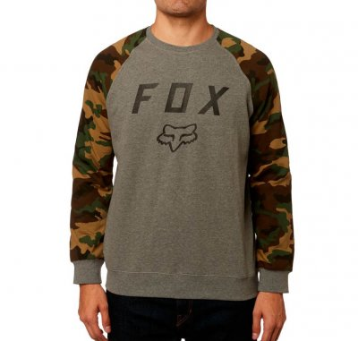 Mikina Fox Legacy Crew Fleece Heather...