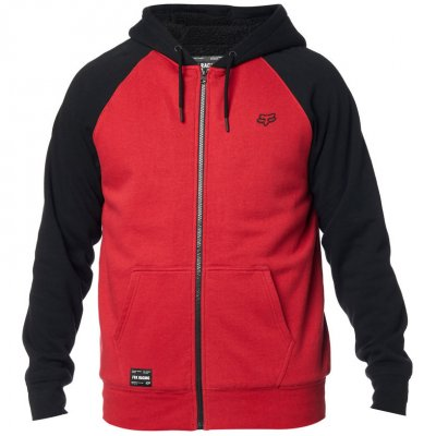 Mikina Fox Legacy Sherpa black/red