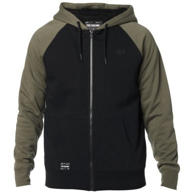 Mikina Fox Legacy Sherpa olive green