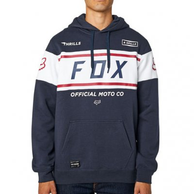 Mikina Fox Official Pullover Fleece m...
