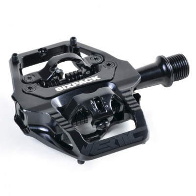 Pedály Sixpack Vertic Trail SPD black