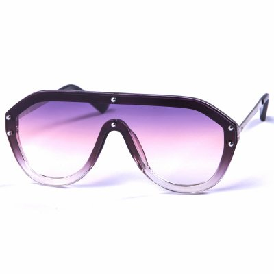 Pitcha IKEBARA sunglasses black/purpl...