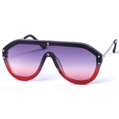 Pitcha IKEBARA sunglasses black/red g...