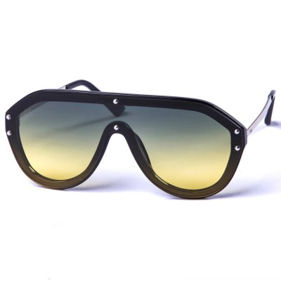 Pitcha IKEBARA sunglasses black/yello...