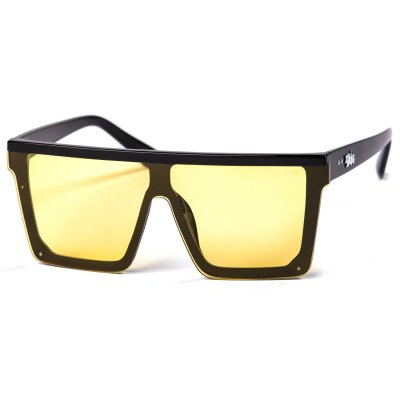 Pitcha LEGOS sunglasses black/yellow