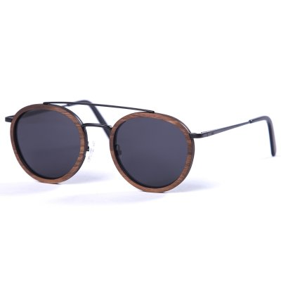 Pitcha STARK sunglasses metal/walnut