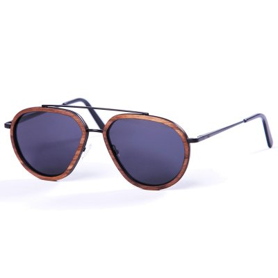 Pitcha STARKER sunglasses metal/walnut