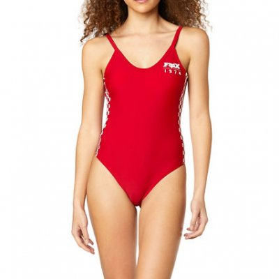plavky Fox Anthem Swim One Piece chilli