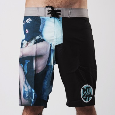 Plavky Pitcha TRAMP Boardshort fullprint
