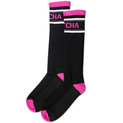 podkolenky Pitcha Every socks black/pink