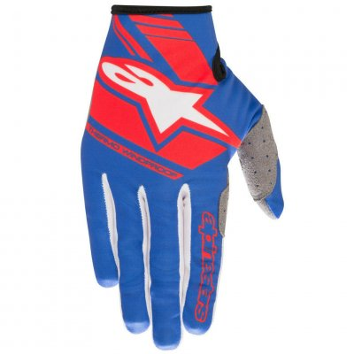 Rukavice Alpinestars Neon 2020 blue/red