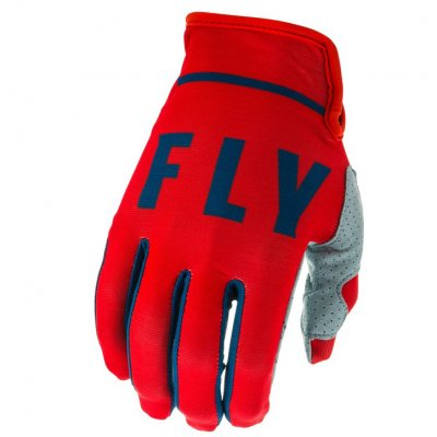 Rukavice Fly Racing Lite 2020 red/gre...