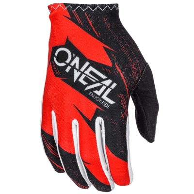 Rukavice Oneal Matrix Burnout Red